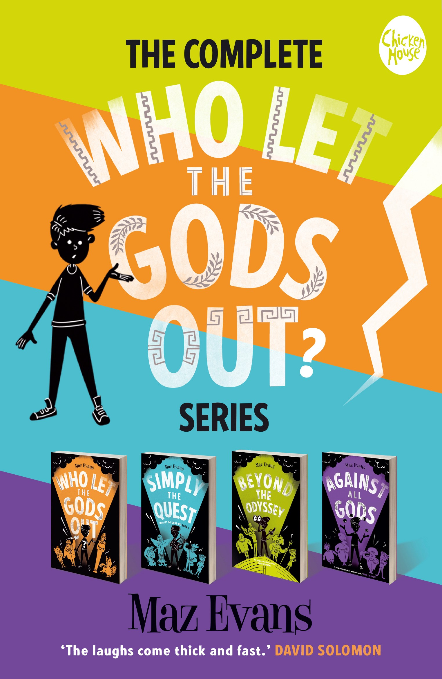 Who Let the Gods Out series cover.jpg